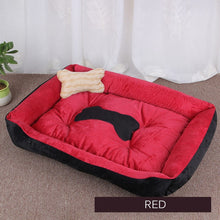 Load image into Gallery viewer, Dog Bed Warming Kennel Washable Pet Floppy Extra Comfy Plush Rim Cushion and Nonslip Bottom All Size Dog House
