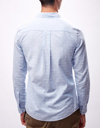 Sky Blue Slim Fit Shirt