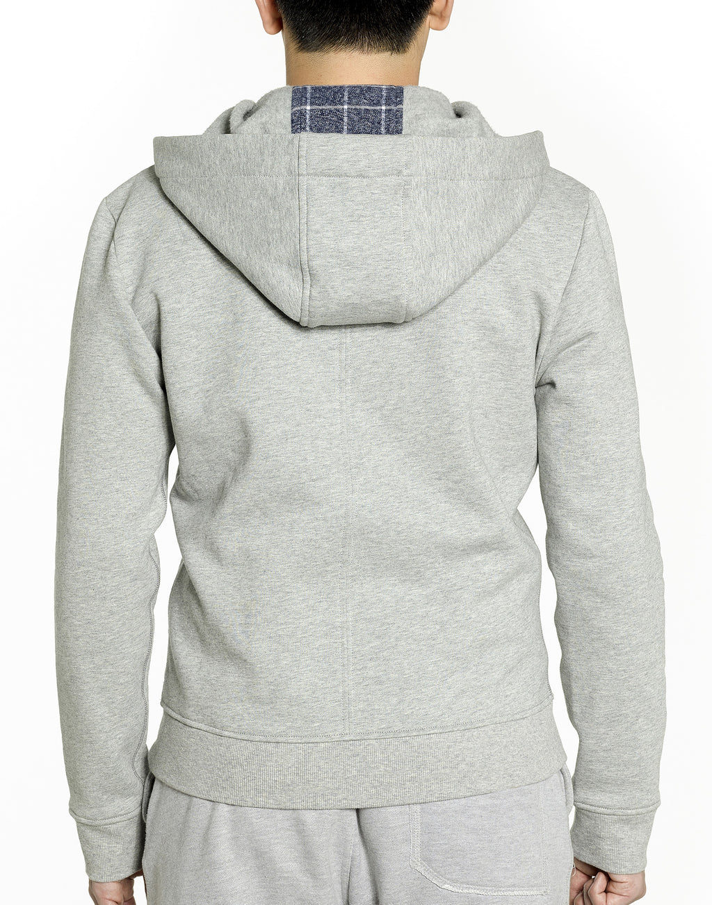 Grey Zip-up Hoodie