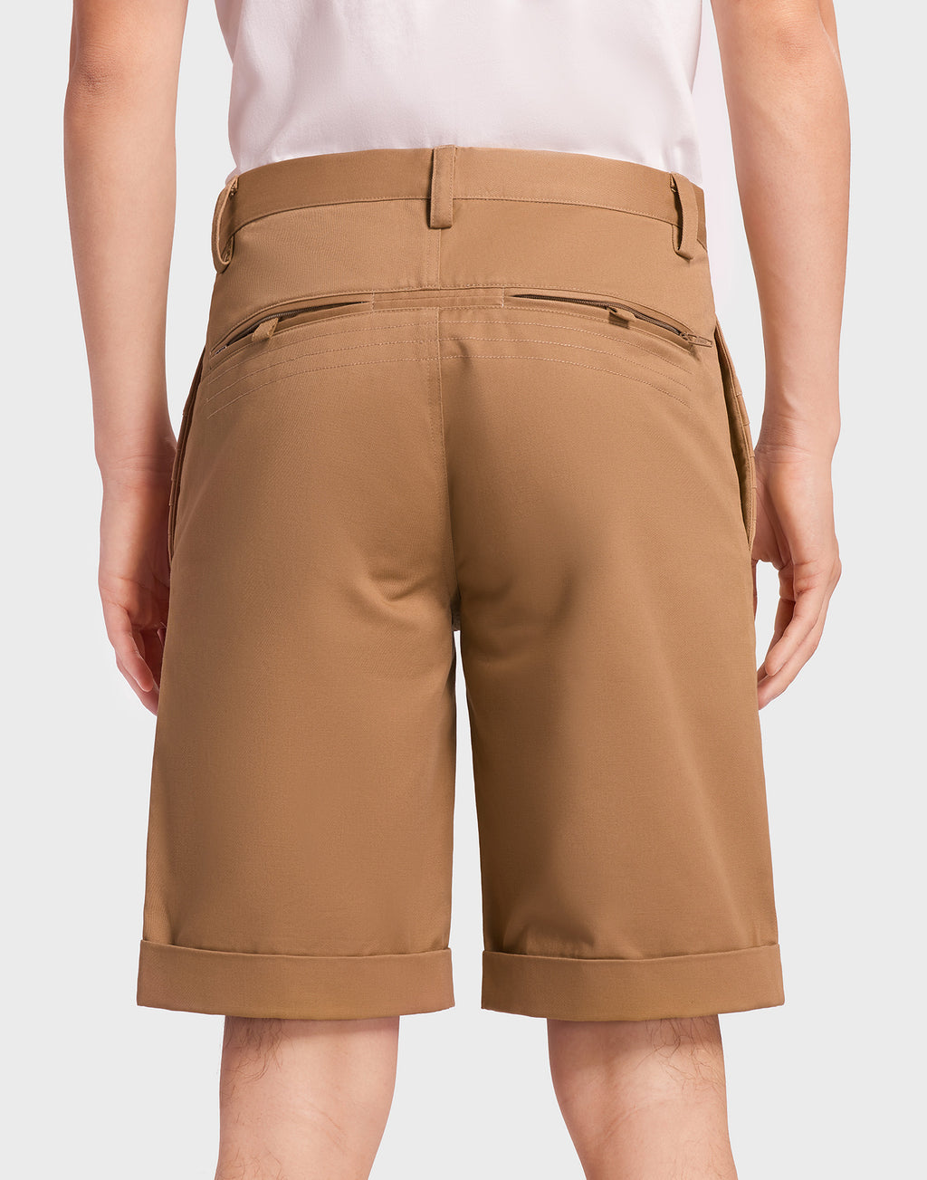 Dark Khaki Shorts