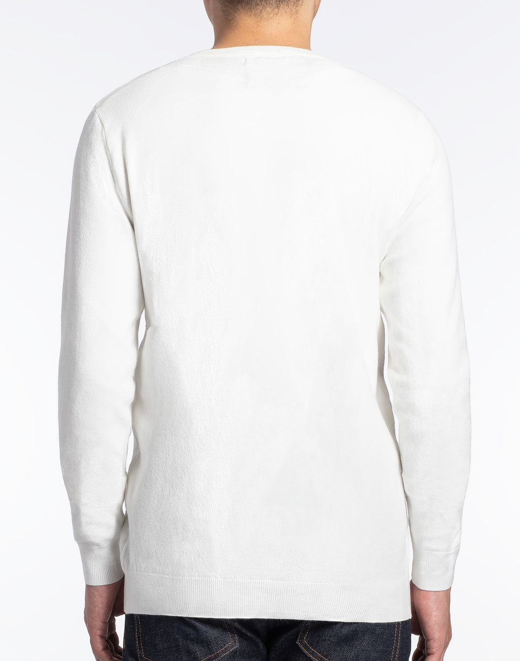 Ivory White Crewneck Sweater