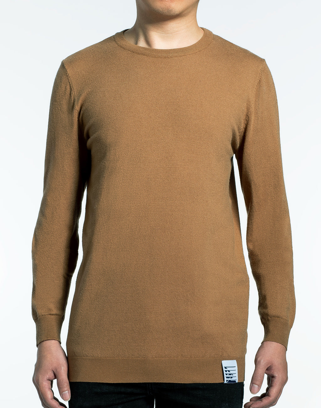 Brown Crewneck Sweater