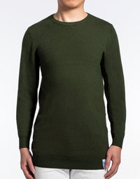 Dark Green Crewneck Sweater