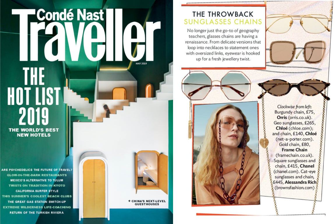 ORRIS LONDON CONDÉ NAST TRAVELLER MAY 2019