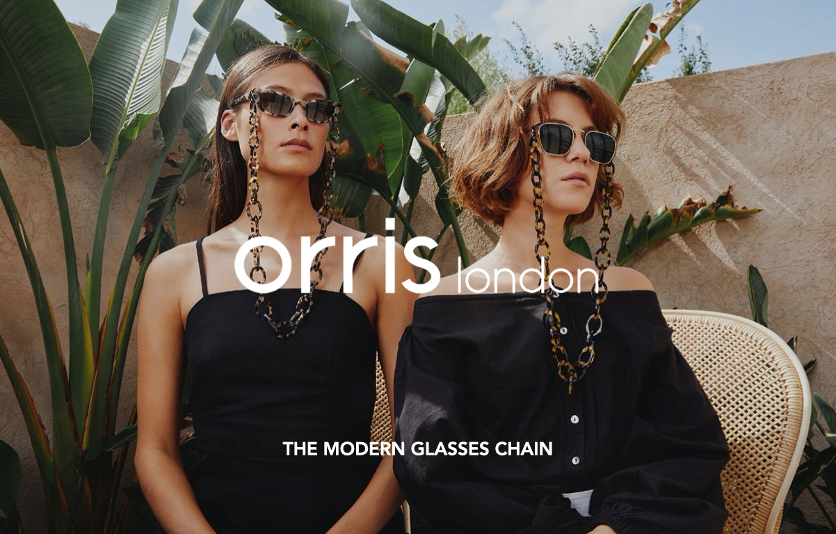 orris london the modern glasses chain lookbook 2020