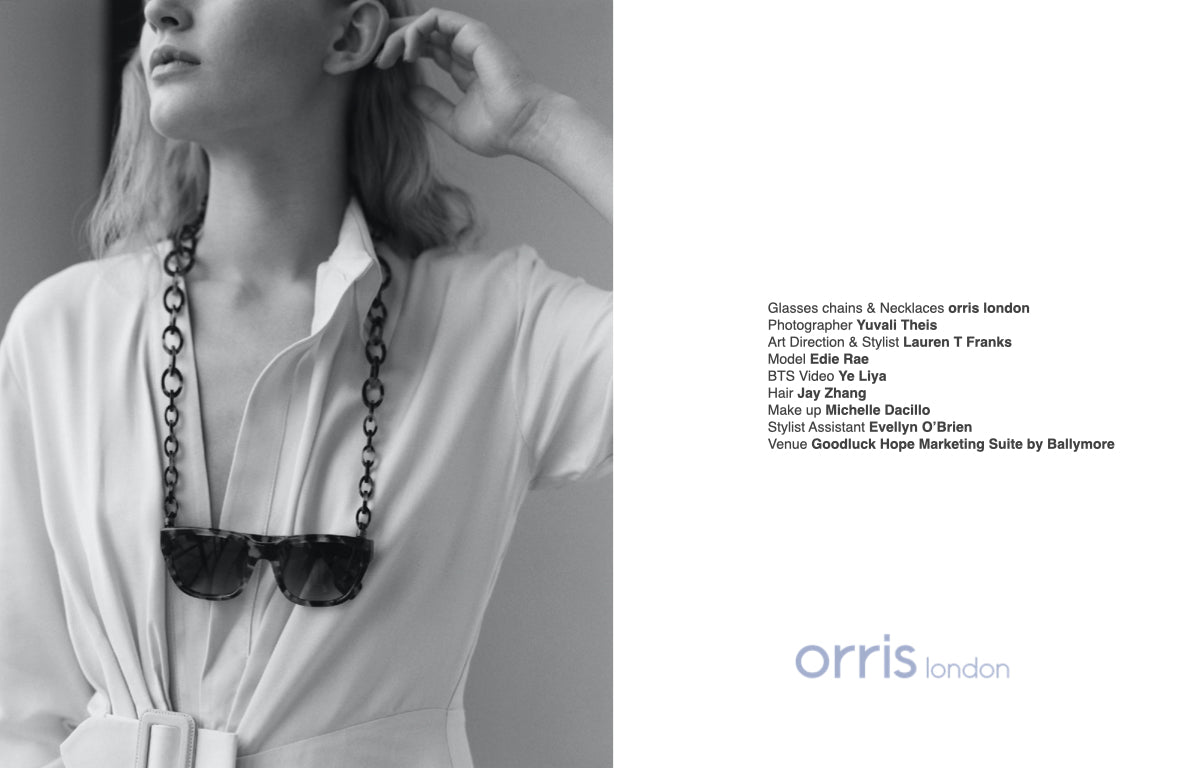 orris london glasses chain lookbook 2019