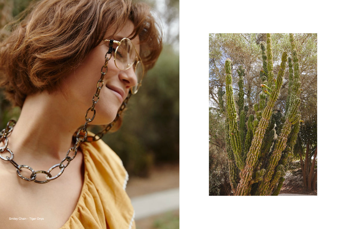 orris london glasses chain lookbook