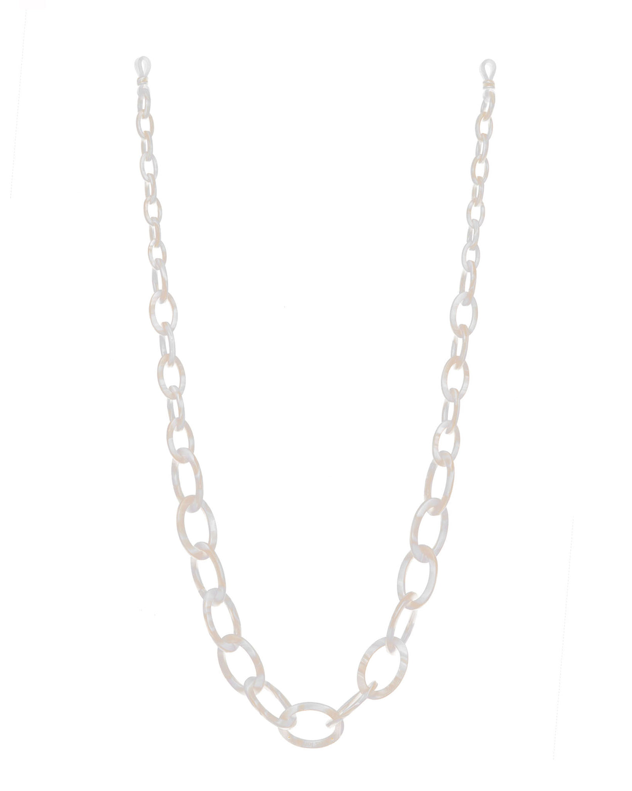 Smiley Chain | Mother of Pearl | Glasses Chain | rassin shen
