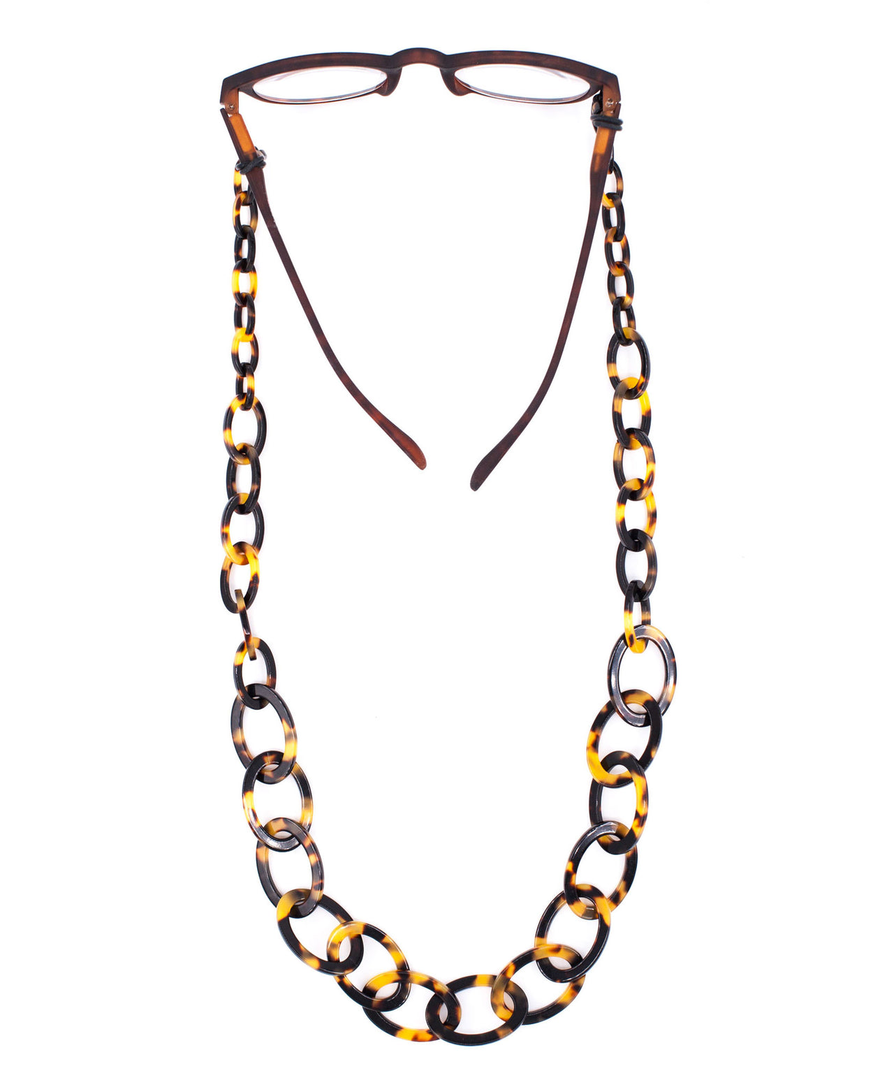 Smiley Chain | Tortoiseshell | Glasses Chain| RASSIN SHEN