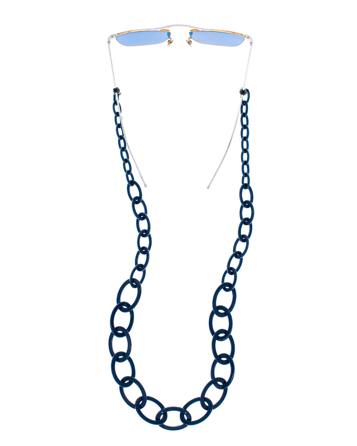 Smiley Chain | Navy Blue | Glasses Chain