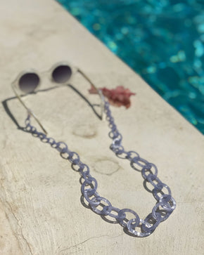 Smiley Chain | Purple Opal | Glasses Chain
