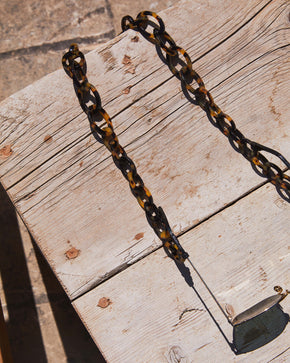 Chunky | Bio-Acetate Dark Tortoiseshell | Glasses Chain