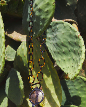 Original D Necklace | Tortoiseshell | Glasses Necklace