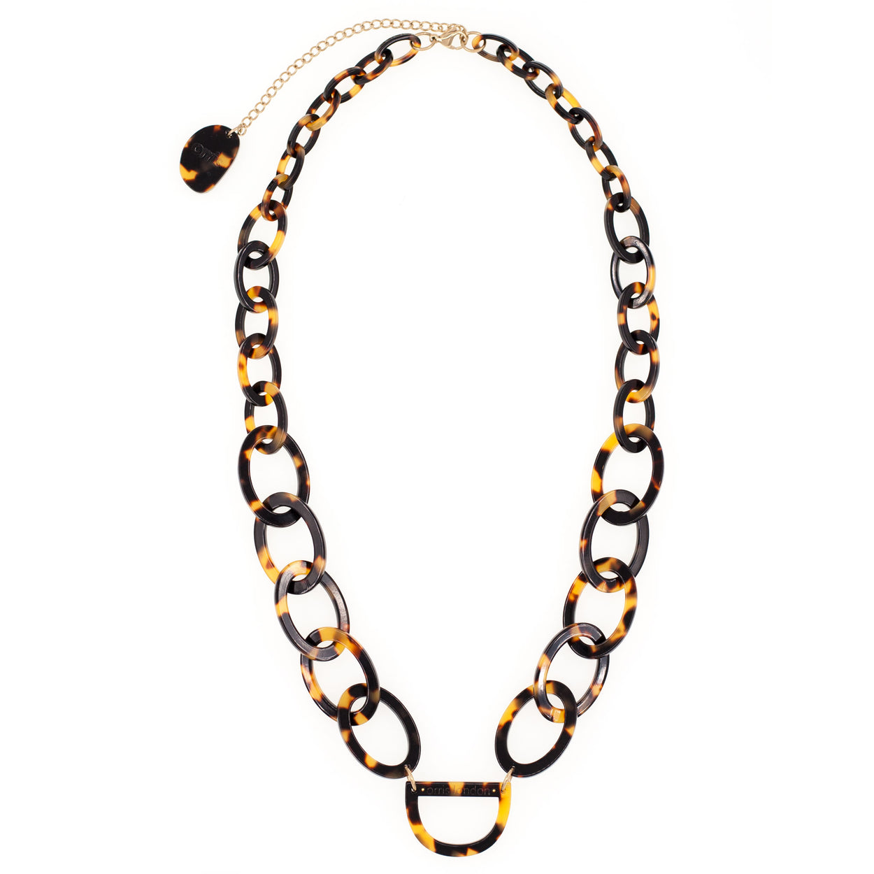 Original D Necklace | Tortoiseshell | Glasses Chain | RASSIN SHEN