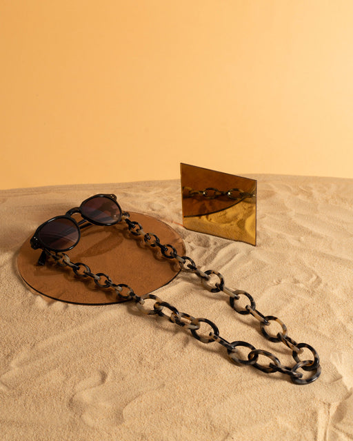 Chunky | Bio-Acetate Light Tortoiseshell | Glasses Chain