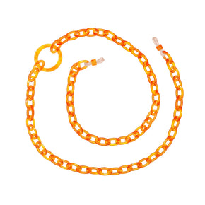 Smiley Mini | Apricot Orange | Glasses Chain | orris london