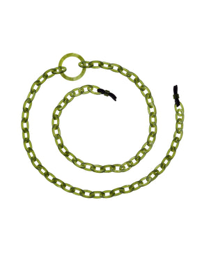 Smiley Mini | Opal Green | Glasses Chain | orris london