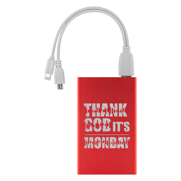 Power Banks - Thank God It's Monday