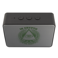Bluetooth Speaker - Boxanne / In Crypto We Trust