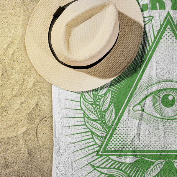 Beach Towel - In Crypto We Trust
