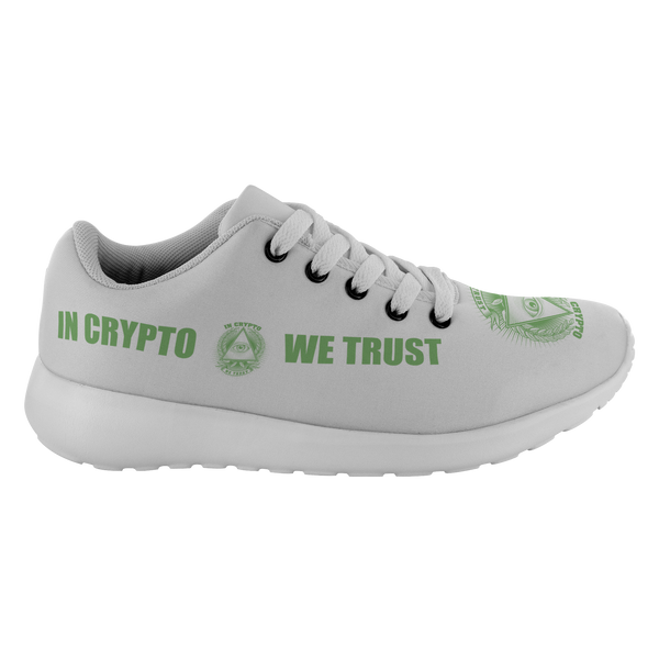 Running Shoes - In Crypto We Trust