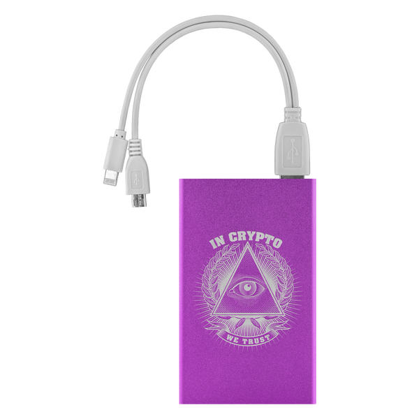 Power Bank - In Crypto We Trust