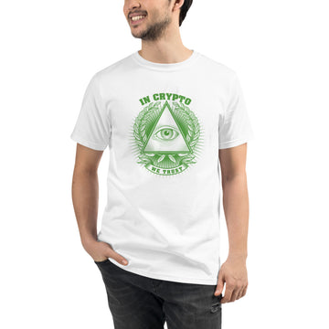 Organic T-Shirt / In Crypto We Trust