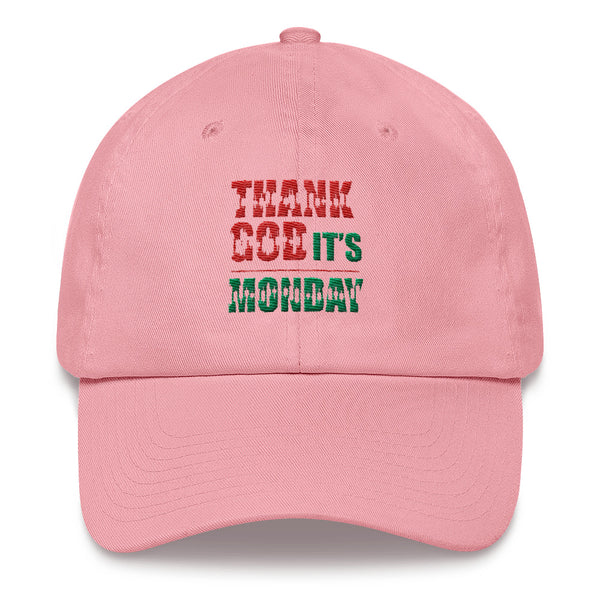 Dad hat - Thank God It's Monday