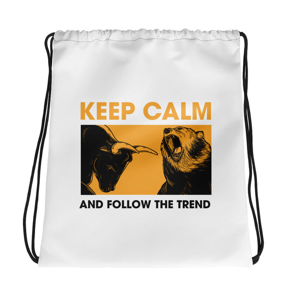Drawstring bag - Follow the trend