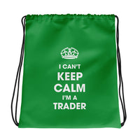 Drawstring bag - Can't Keep Calm