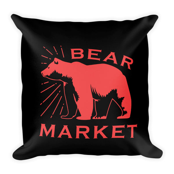 Basic Pillow/ Bear Market