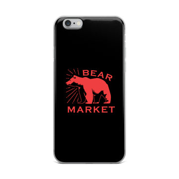 iPhone Case/ Bear Market
