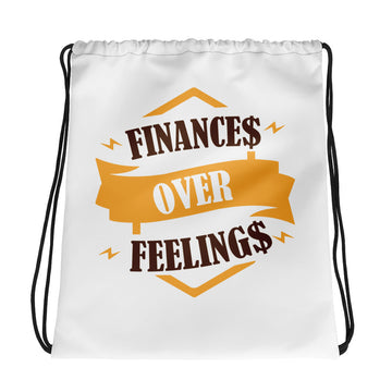 Drawstring bag/ Finance Feeling