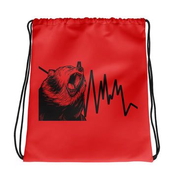 Drawstring bag - Bear Down