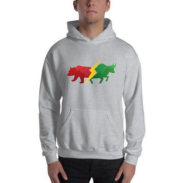 Hooded Sweatshirt - Bear & Bull
