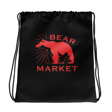 Drawstring bag/ Bear Market