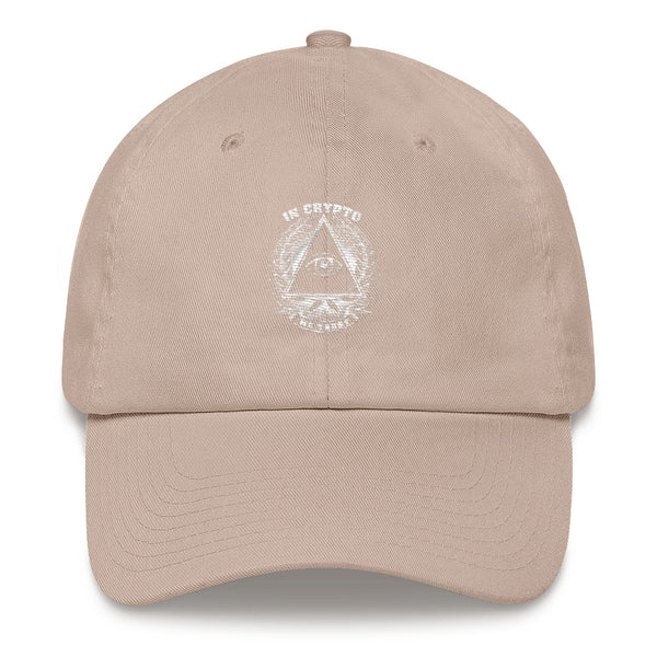 Woman hat - In Crypto We Trust