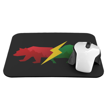 Mousepad - Bear & Bull