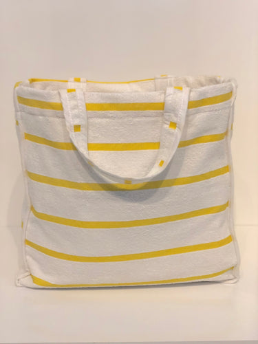 Yellow Terry Bag