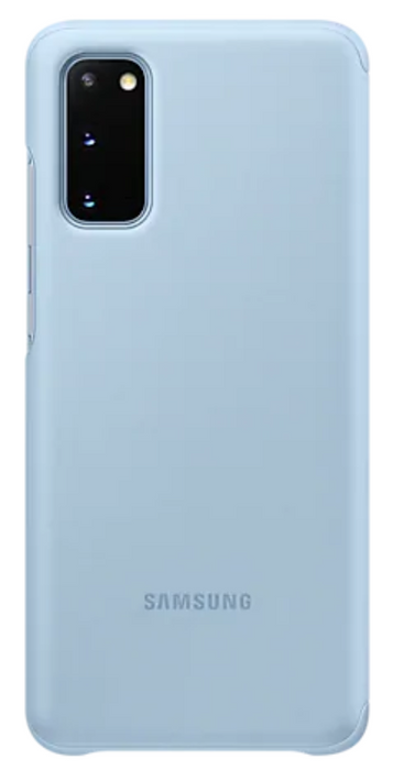 Samsung Galaxy S20 Smart Clear View Cover-Blue
