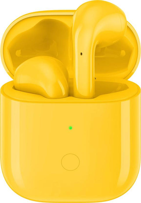 Realme Buds Air With Wireless Charging Case Bluetooth Headset-Yellow