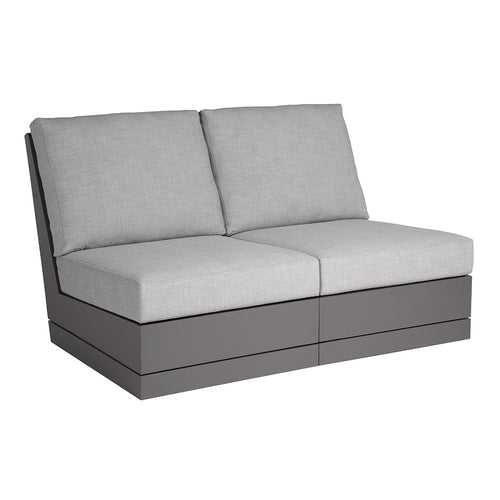 Beachside Armless Two-Seat Sofa