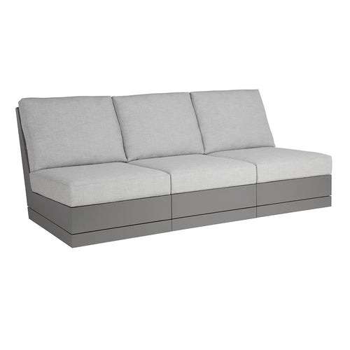 Beachside Armless Three-Seat Sofa