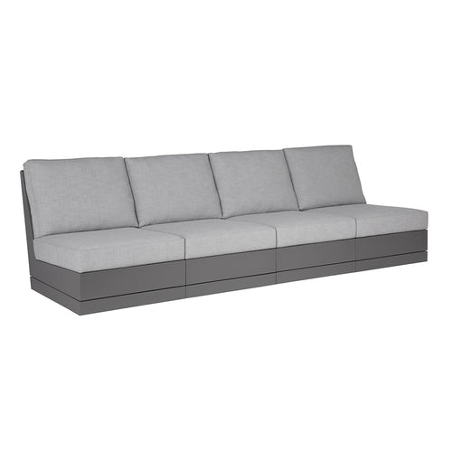 Beachside Armless Four-Seat Sofa