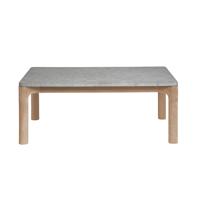 Franck Side Table with Stone Top