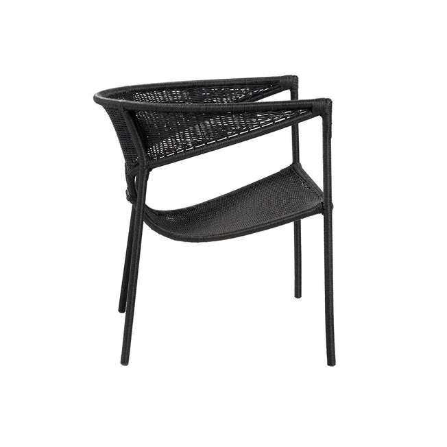 Sag Harbor Lounge Chair - Black
