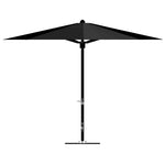 11' Octagonal Umbrella - Black