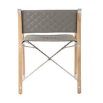 Neo-Classic Folding Chair with Outdoor Leather