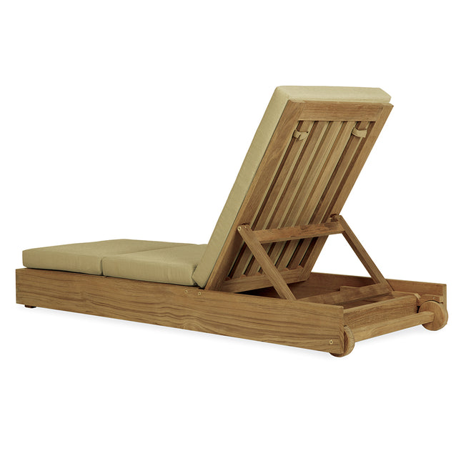 Poolside Armless Chaise