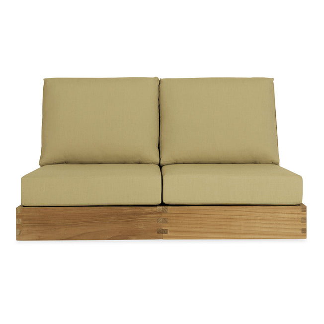 Poolside Armless Two-Seat Sofa